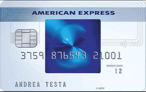 Carta di Credito Blu American Express